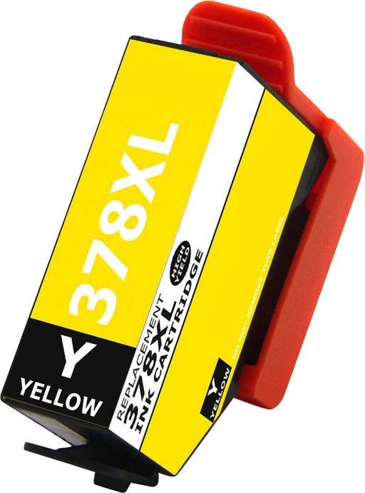Compatible Epson 378XL Yellow High Capacity Ink Cartridge - x 1