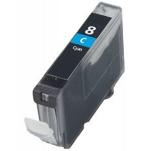 Compatible Canon CLI-8 High Capacity Ink Cartridge - 1 Cyan