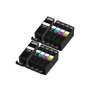 Compatible Canon 10 PGI520 CLI521 MP540 Inks