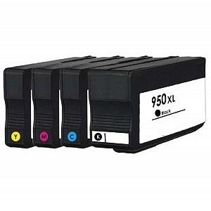 Compatible HP Set of 8610 Ink Cartridges (950/951XL)