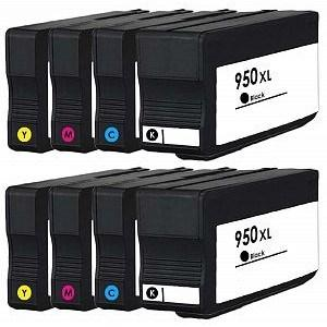 Compatible HP 2 Sets of 8615 Ink Cartridges (950/951XL)