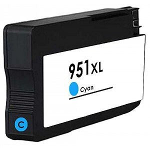 Compatible HP 950XL/951XL High Capacity Ink Cartridge - 1 Cyan