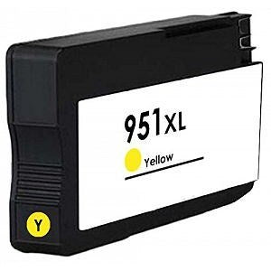 Compatible HP 950XL/951XL High Capacity Ink Cartridge - 1 Yellow