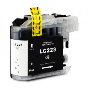 Compatible Brother LC223 High Capacity Ink Cartridge - 1 Black