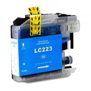 Compatible Brother Cyan DCP-J4120DW ink cartridge (LC223 XL)