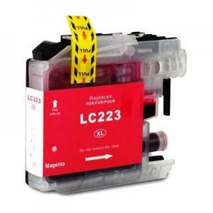 Compatible Brother Magenta MFC-J880DW ink cartridge (LC223 XL)