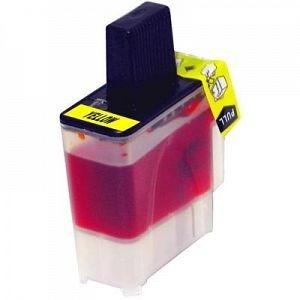 Compatible Brother LC41 Yellow FAX-2440C Ink Cartridge