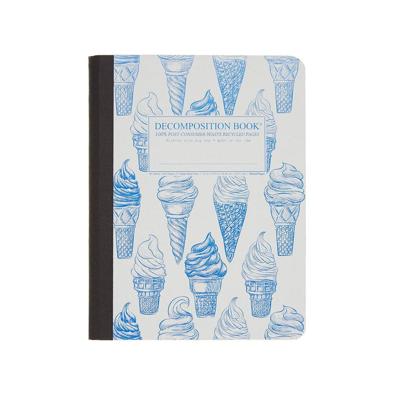 Decomposition: Soft Serve Large Notebook - The Teaching Tools Teacher Stamps