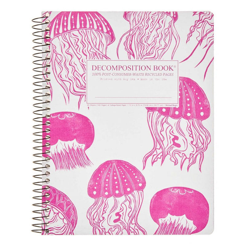 Decomposition: Jellyfish Large Spiral Notebook - The Teaching Tools Teacher Stamps