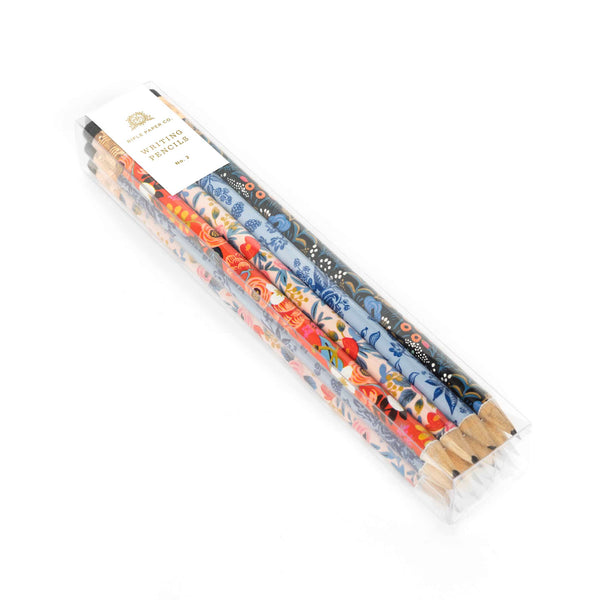 Rifle Paper Co: Floral Graphite Pencils (12 Pack) - The Teaching Tools