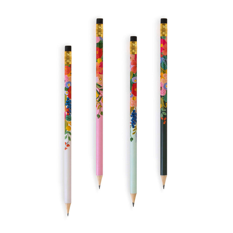 Rifle Paper Co: Garden Party Graphite Pencils (12 Pack) - The Teaching Tools Teacher Stamps