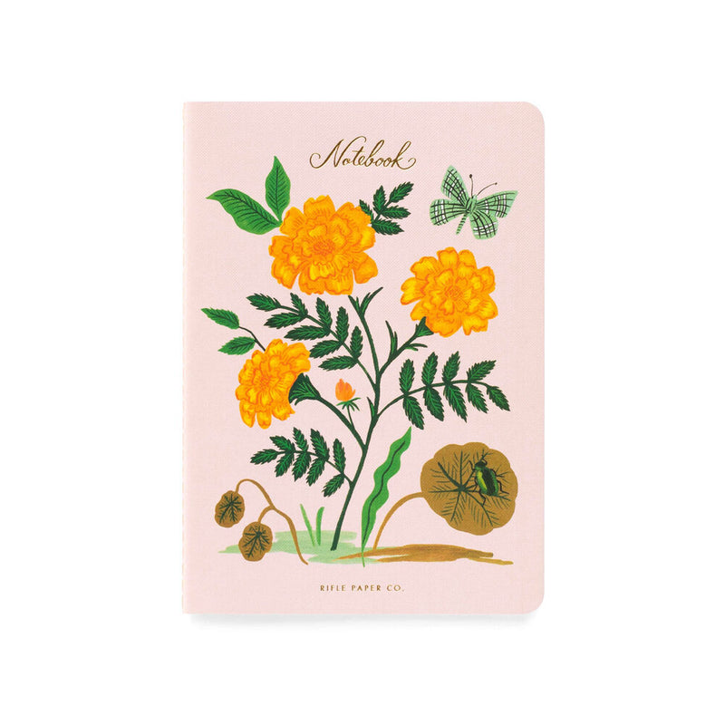 Rifle Paper Co: Botanical Stitched Notebook (3 Pack) - The Teaching Tools