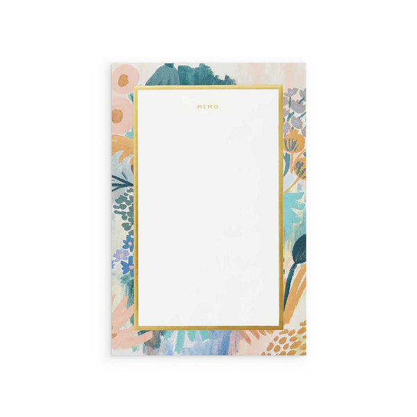 Rifle Paper Co: Luisa Large Memo Notepad - The Teaching Tools