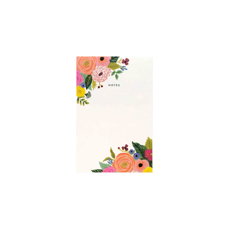 Rifle Paper Co: Notepad - Juliet Rose - The Teaching Tools Teacher Stamps
