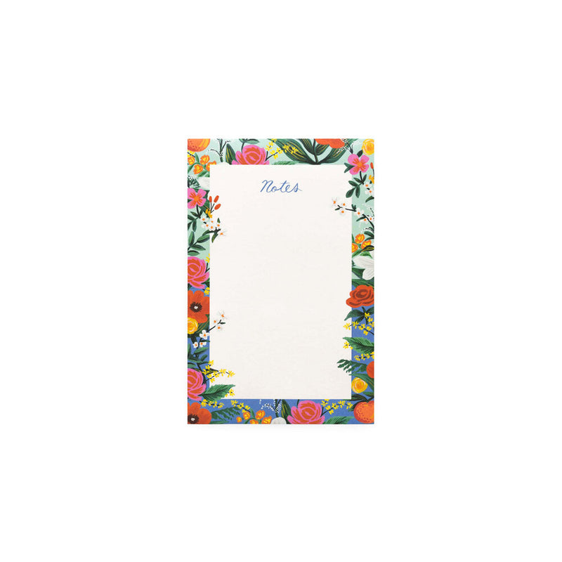 Rifle Paper Co: Notepad - Orangerie - The Teaching Tools Teacher Stamps