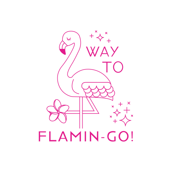 Way To Flamin-go - The Teaching Tools Teacher Stamps