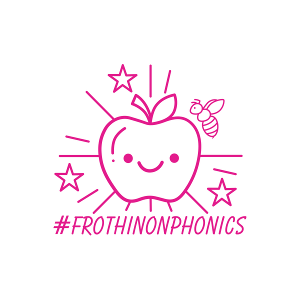Frothin On Phonics - The Teaching Tools Teacher Stamps