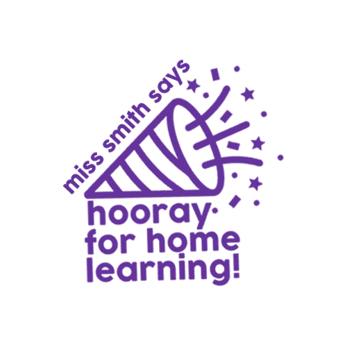 Personalised Digital Stamp: Hooray For Home Learning - The Teaching Tools Teacher Stamps