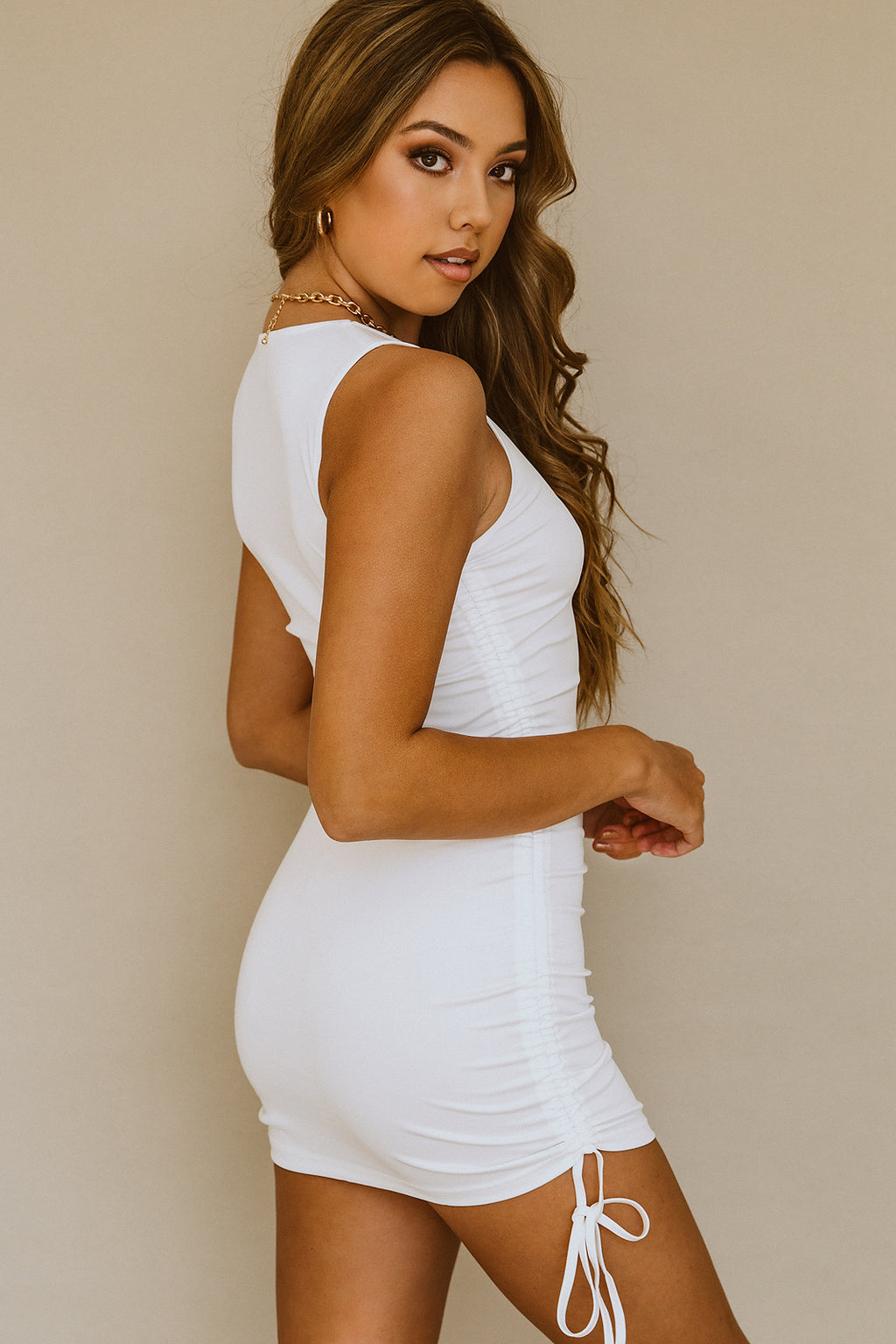 Los Feliz Dress - White