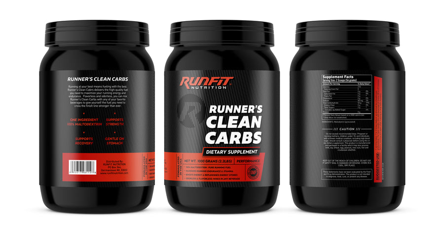 Runner's Clean Carbs - Maltodextrin - RunFit Nutrition