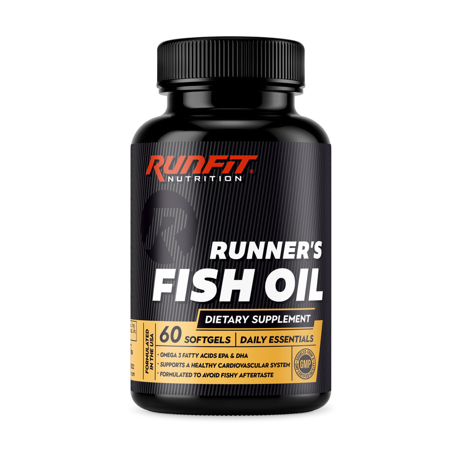 Runner's Fish Oil - RunFit Nutrition - Fish oil for runners