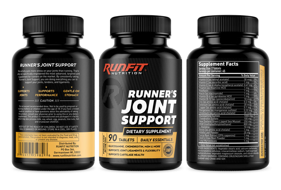Runner's Joint Support - RunFit Nutrition - Joint supplement for runners