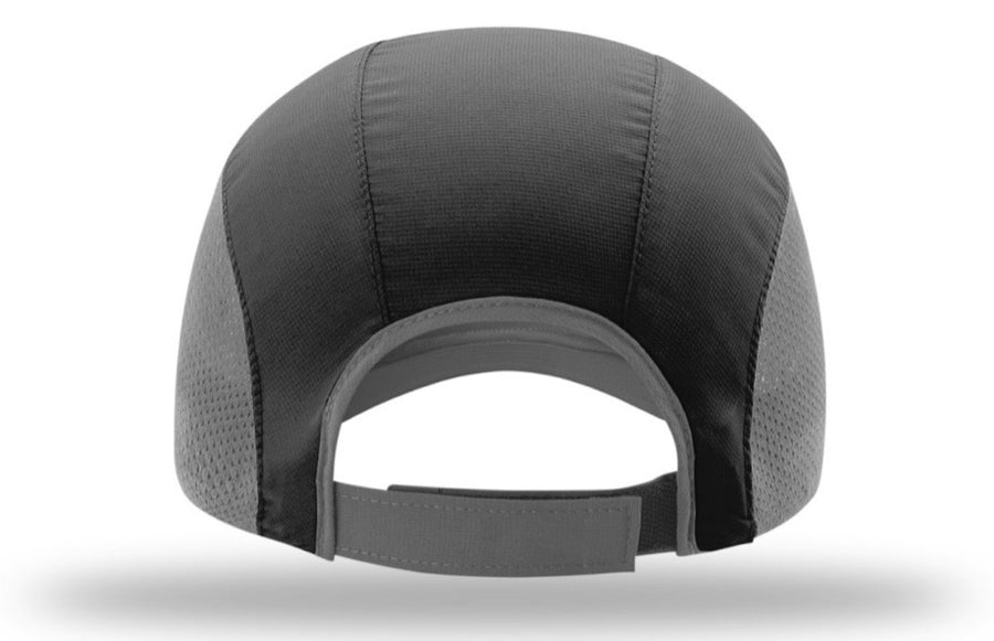 RunFit Running Hat - Black/Gray - RunFit Nutrition