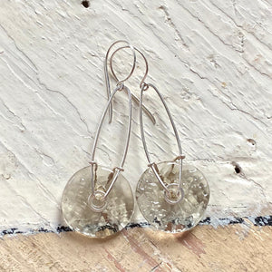 Geometric Earrings - Ice