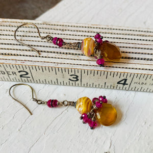 Unique Gemstone Earrings