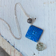Load image into Gallery viewer, Mixed Media Pendant Necklace