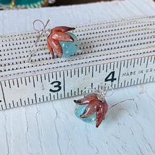 Load image into Gallery viewer, Mixed Media Pendant Earrings
