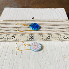 Load image into Gallery viewer, Mini Art Glass Dangles - Vintage Ivory