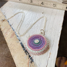 Load image into Gallery viewer, Bead Embroidered - Solo Lavendar