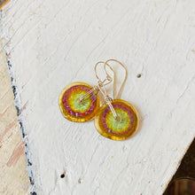 Load image into Gallery viewer, Textured Disc Earrings