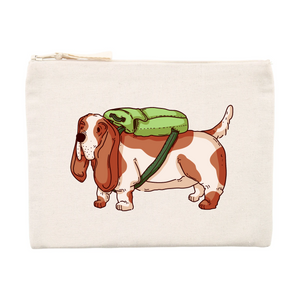Basset Hound Pencil Case