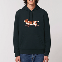 Load image into Gallery viewer, Skateboarding Hound Organic Hoodie