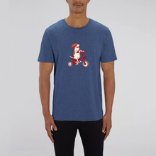 Load image into Gallery viewer, Three Wheeling Organic Basset Tee