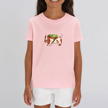 Load image into Gallery viewer, Kids Backpack Basset Organic Tee