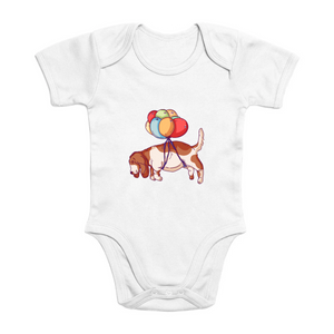 Fly Away Hound Organic Bodysuit