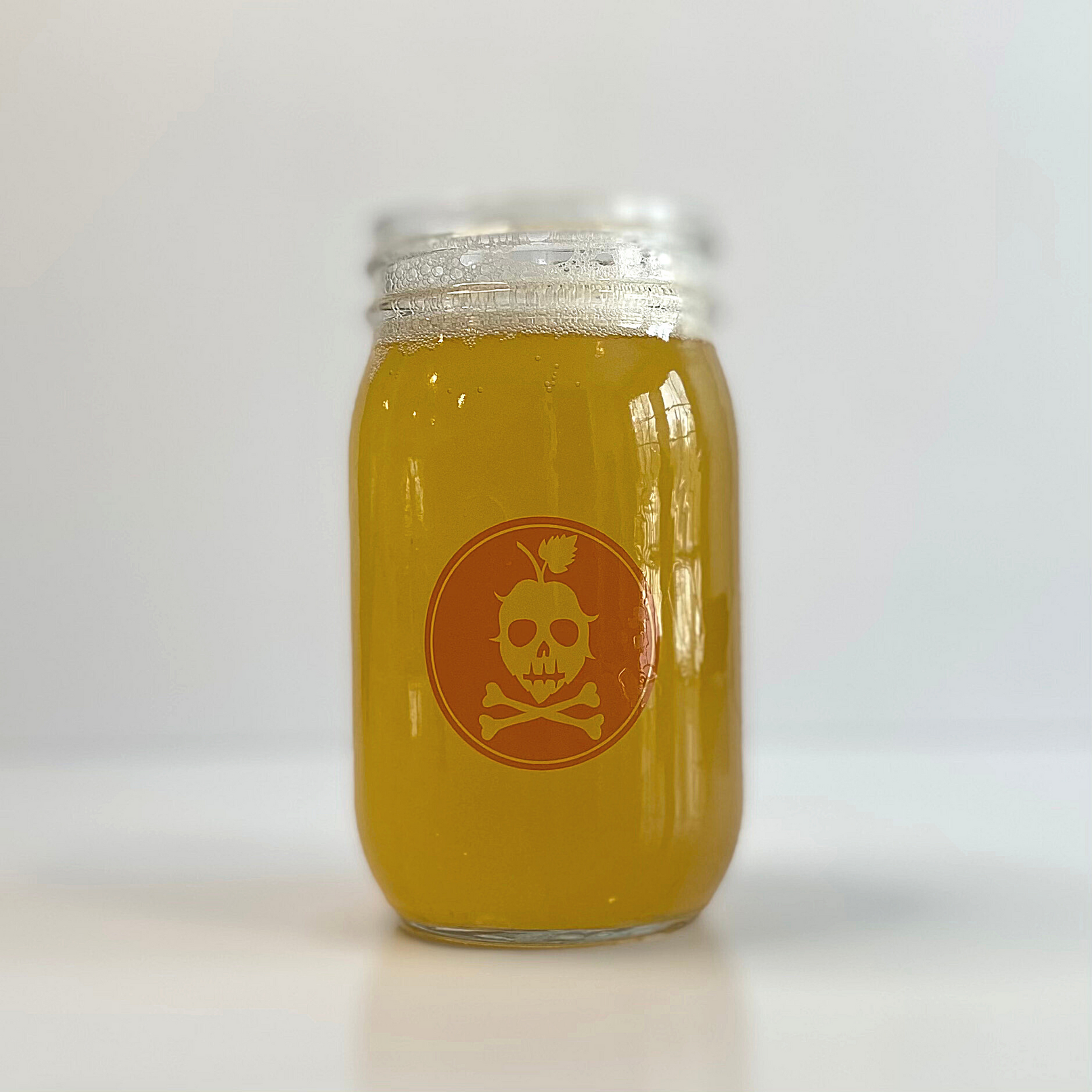 CG MASON JAR (Orange)