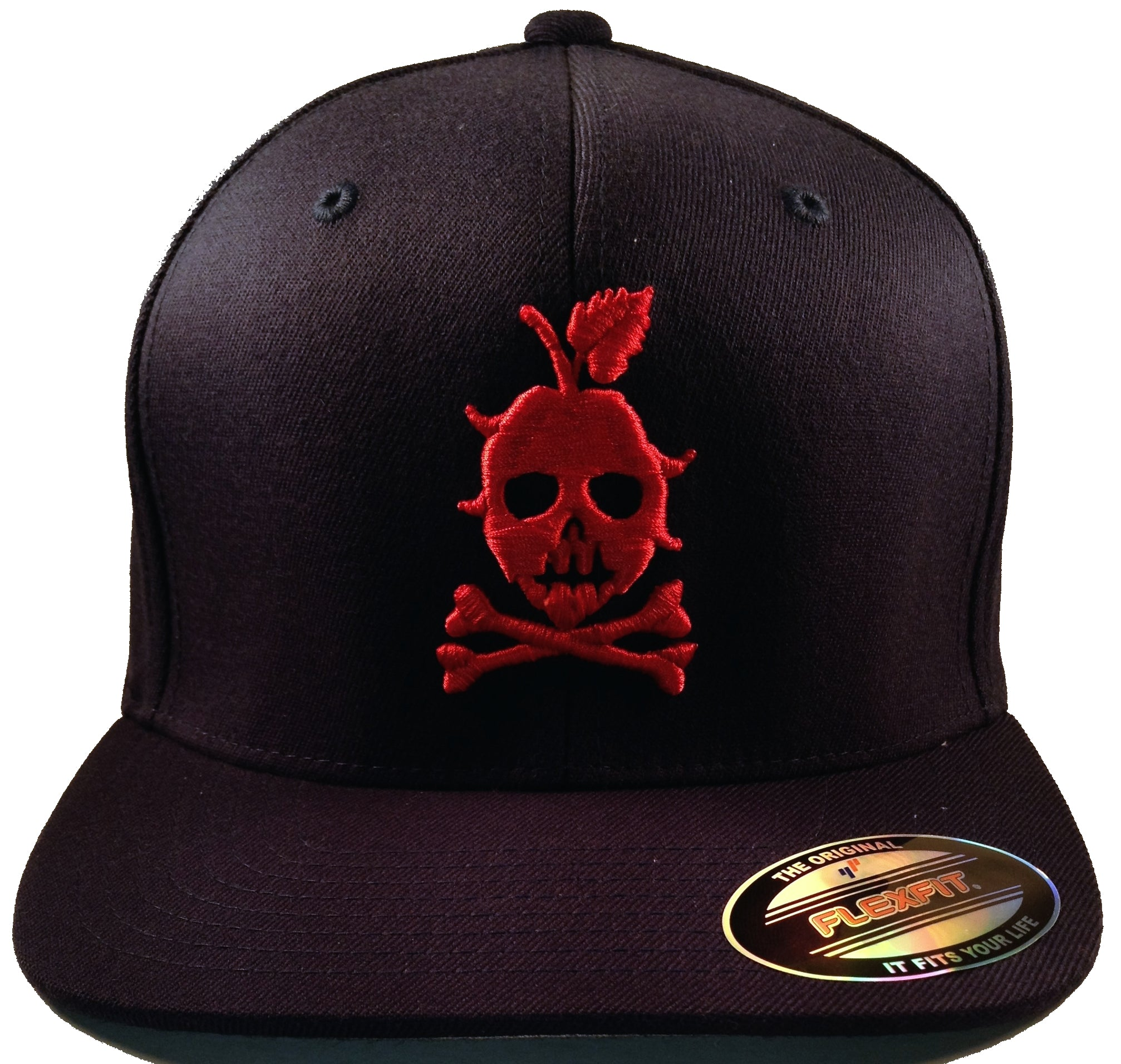 THE LOCAL CAP (Navy and Red)