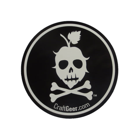 CraftGeer Sticker, Round