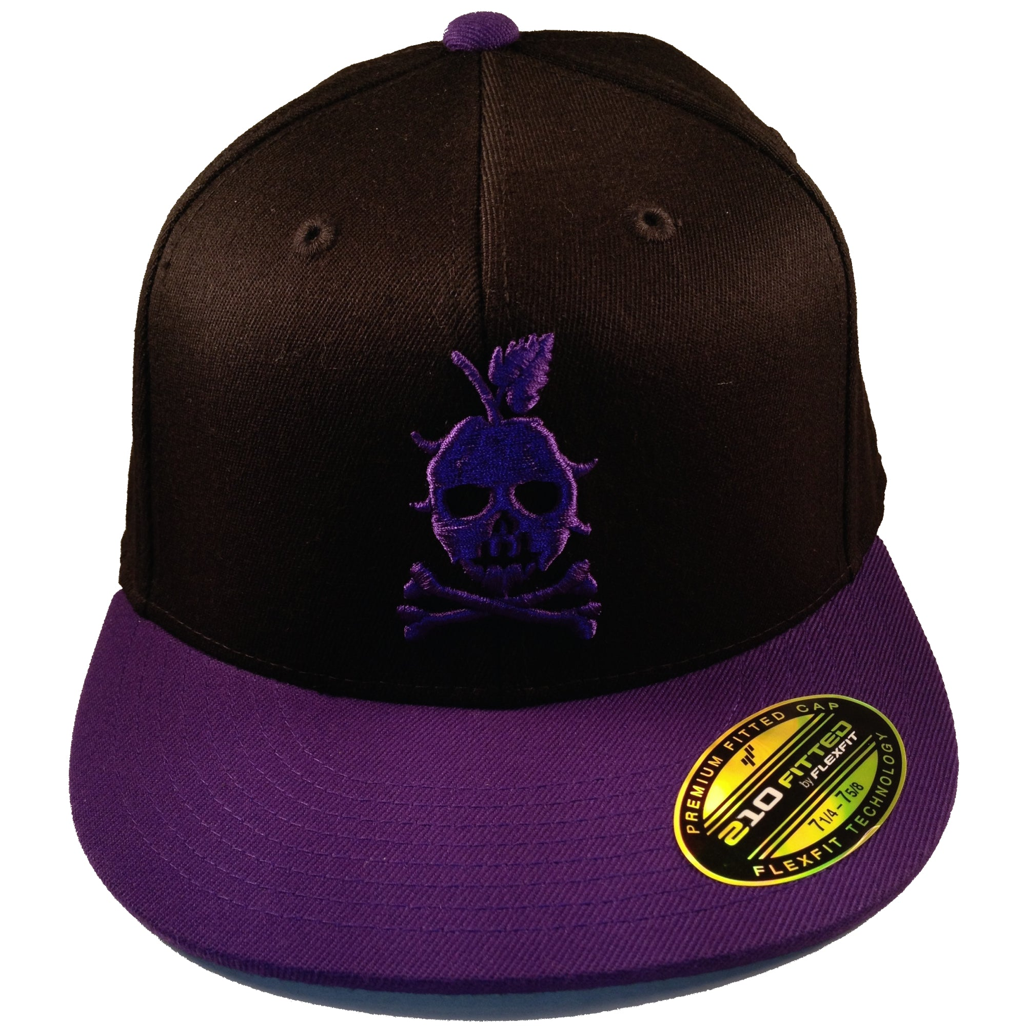 THE LOCAL CAP (Black and Purple)