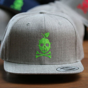 THE LOGO Snapback (Neon Green)