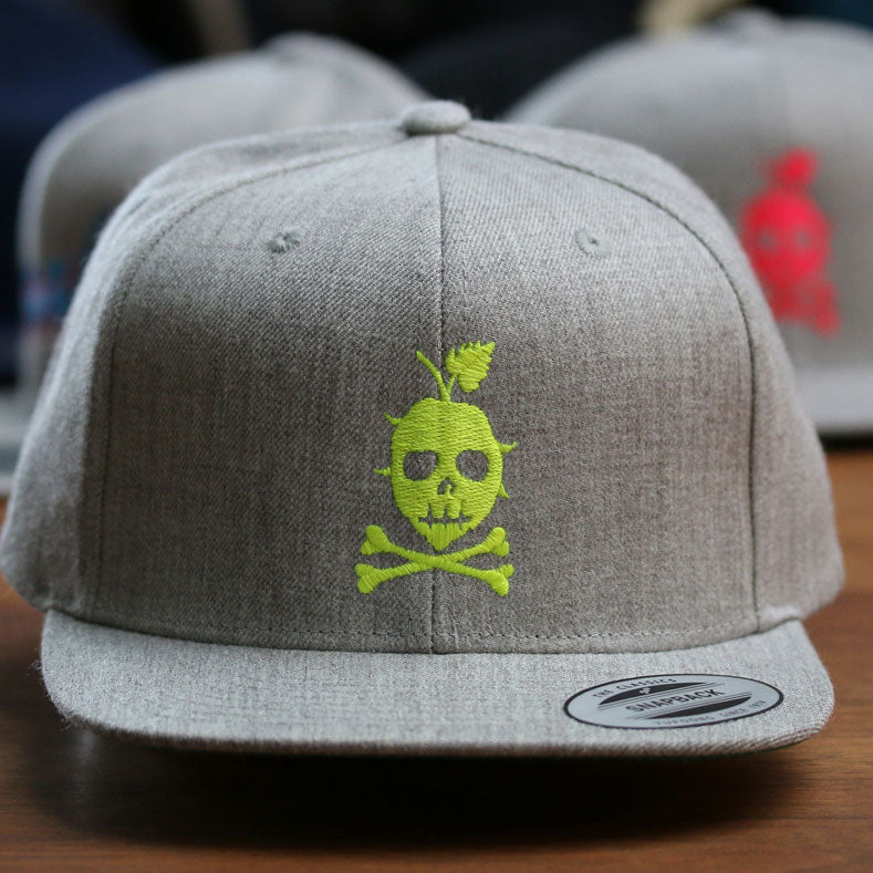 THE LOGO Snapback (Neon Yellow)