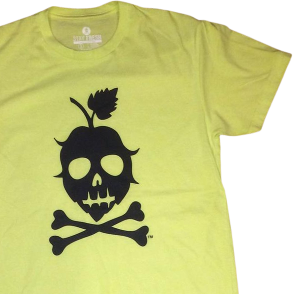 THE LOGO TEE (Neon Yellow)