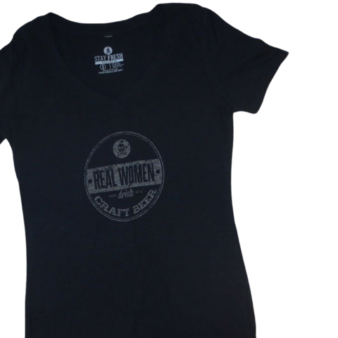 REAL WOMEN V-Neck Tee