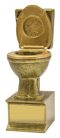 Novelty - Gold Toilet