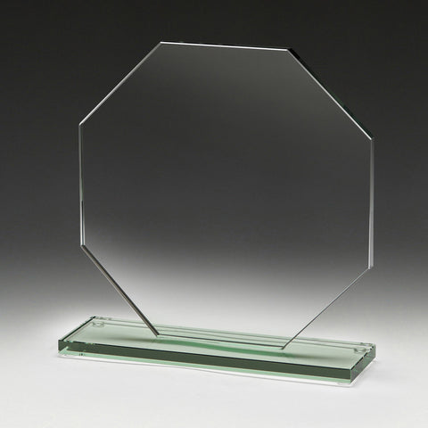 Octagon Jade Glass
