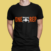 One More Rep Printed T-Shirt - Team Resh Shop